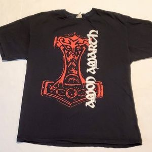 Vtg Anon Amarth Death Metal Band Tee Shirt XL